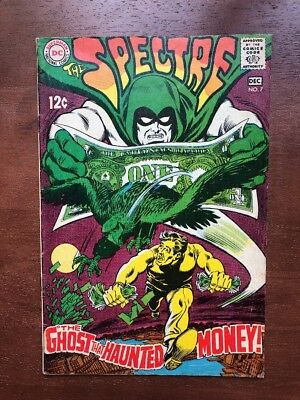 The Spectre #7 (1968) 7.0 FN DC Key Issue Comic Silver Age