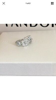 5de8895ba Shimmering Bouquet Ring Pandora Stamped S925 ALE Comes With Pouch Size 52