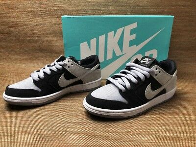 cb5afcad4ba6 Nike SB Zoom Dunk Low Pro 854866-001 Wolf Grey Black White Brand New  Complete