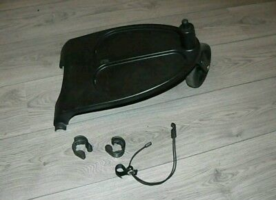 Genuine bugaboo cameleon, frog and gecko wheeled board with adapters and cord .