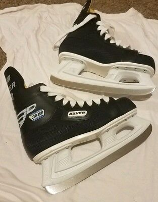 Mens BAUER IMPACT 30 ICE HOCKEY SKATES    Size 5D Excellent used condition