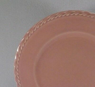 Metlox Native California Salad Plate PINK-1940's Pastel Poppytrail Vernon