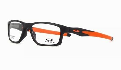Oakley Crosslink MNP TruBridge OX 8090 01 Satin Black Eyeglasses Frames  Size 53 c89bc856bb