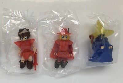 Lot of Three (3) Final Fantasy Square Minimum Collection Figures - New