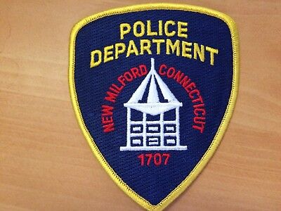 Collectible New Milford Connecticut  Police Patch