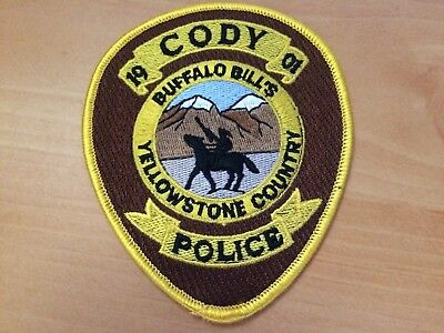 Collectible Cody Wyoming Police Patch