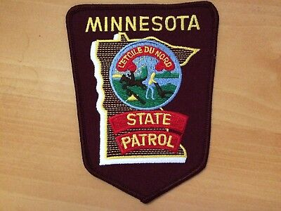 Collectible Minnesota State Patrol Patch
