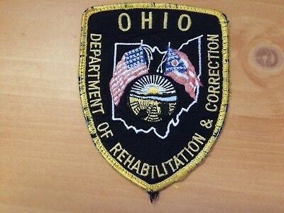 Collectible Ohio Dept Of Rehabilitation And Corrections  Patch