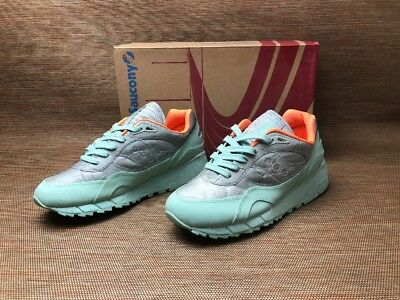 brand new 0cc22 f5811 SAUCONY SHADOW 6000 MD S70345-1 Green/Grey Running Brand New Complete
