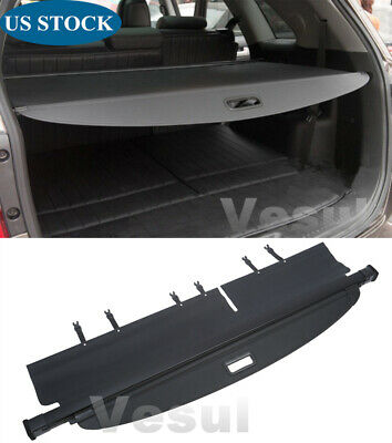 For Kia Sorento 2016-2019 Trunk Cargo Luggage Security Shade Cover Shield Black*
