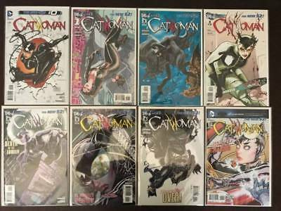 Catwoman Comic Book Lot, 16 Issues, New 52, Vol. 5, NM