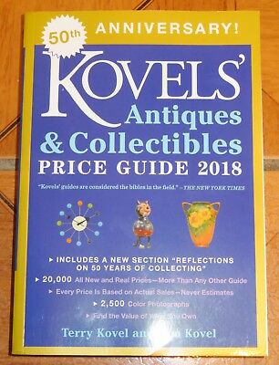 Korvels' 2018 Antiques & Collectibles Price Guide