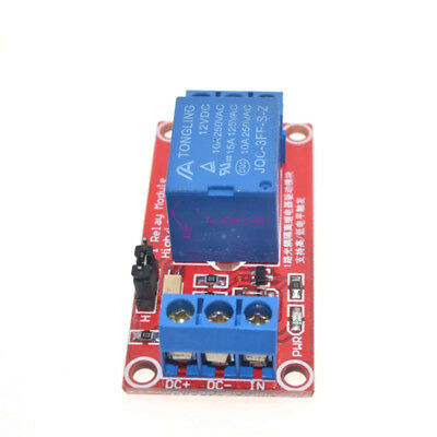 1 channel Optocoupler Relay Module Support high and low trigger DC 5V