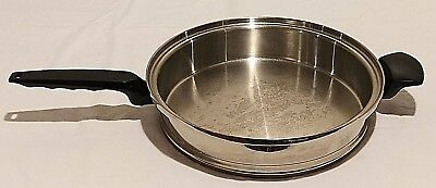 West Bend Lifetime Cookware Frying Pan 11 Inch Skillet Stainless Steel