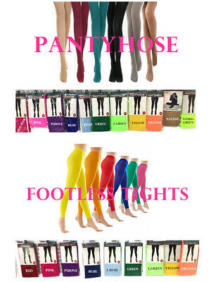 Colorful Women Pantyhose Hosiery Stockings Tights Choose Colors
