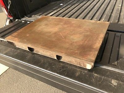 "22""x16"" Cast Iron Surface Plate, Machinist Tool"