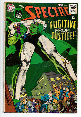 THE SPECTRE #5 (DC, 1968) See Scans!