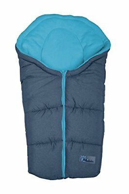 Altabebe Alpin Winter Footmuff for Baby Car Seat 0 - 12 Months, Dark GreyBlue