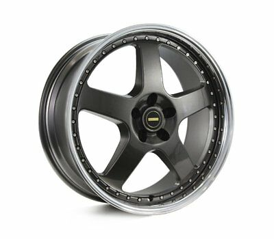 AUDI  A5 WHEELS PACKAGE: 20x8.5 20x9.5 Simmons FR-1 Hyper Dark and Winrun Tyres