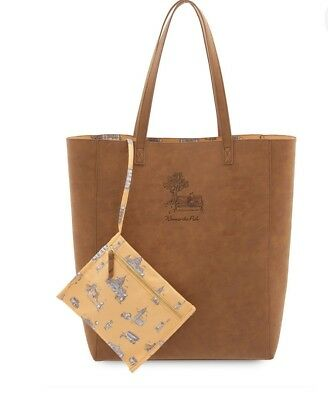 Disney Christopher Robin Winnie The Pooh Tote Bag (New with Tags)