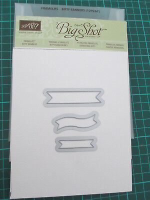 Stampin Up  Framelits - Bitty Banners
