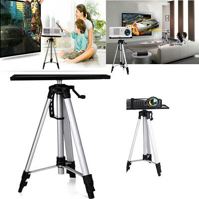 Portable Tripod Adjustable Stand Tray for Projector Notebook Aluminium 55-150cm