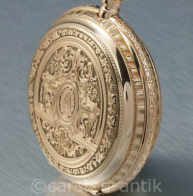 OUTSTANDING! Lattes Frères & Cie. Pocket Watch Geneva 1870