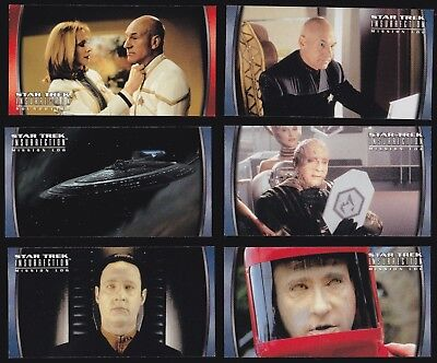 Star Trek Insurrection - A Complete Skybox 1998 Mini Master Set - Base + 4 Sets