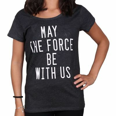 Tshirt Star Wars Femme - May The Force Be With Us