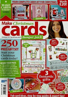Make Christmas Cards  Magazine Christmas 2017 Special Issue Free Gift.