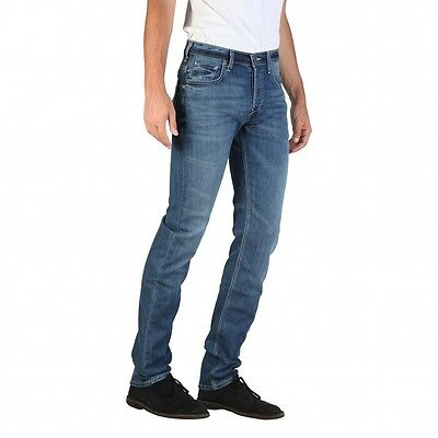 Mens Lee Powell Blue Legacy Slim Straight Stretch Jeans RRP£80 (Seconds) L60