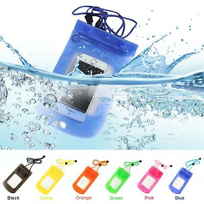 Ultra Slim Summer Waterproof Pouch Protector Case Cover Bag Dry For Mobile Phone