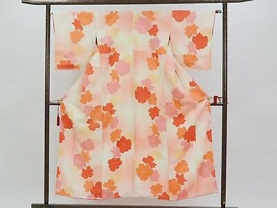 Authentic Japanese Kimono with Floral Print Made in Japan FREE SHIPPING