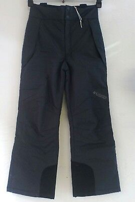 * Columbia Ski Trousers dungeree Black Grey size Kids 14/16years Ski snow pants,