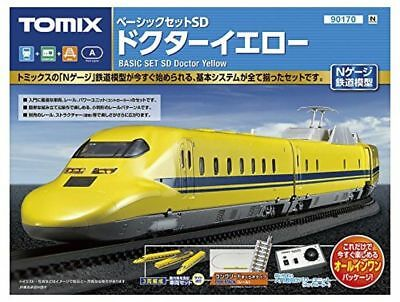 Tomix 90170 JR Series 923 Shinkansen Doctor Yellow N Scale Starter Set New