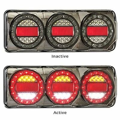LED Autolamps MaxiLampC3XRW3M 12-24 Volt Stop / Tail / Indicator and Reverse