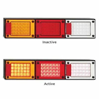 LED Autolamps J3BARWM 12-24 Volt Stop / Tail / Indicator and Reverse Reflector C