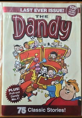 The Last Ever The Dandy Comic From 2012