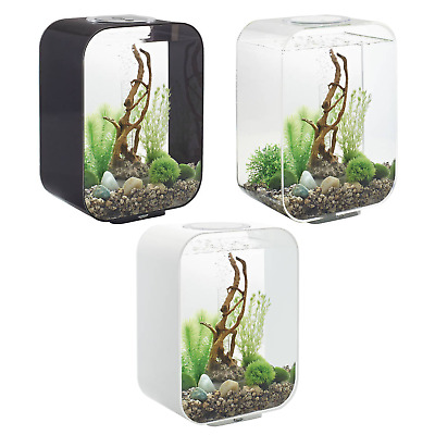biOrb Life 15L Aquariums MCR - Available in White, Black & Clear
