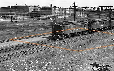 "New Haven Railroad Various Equipment MU's & Engines 193  B&W 4""x6"" Prints  QTY 8"