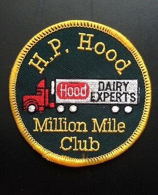 Dairy Embroidered Patch~H.p. Hood, Lynnfield, Mass. Hood Dairy Experts