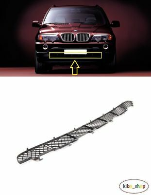 Bmw X5 E53 2000 - 2003 New Front Bumper Lower Center Grill Grille