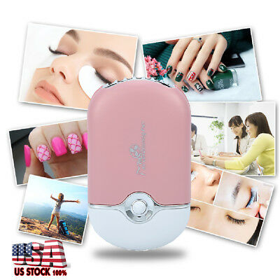 Mini USB Fan Air Conditioning Blower Fan For Eyelash Extension Glue Quick Dryer