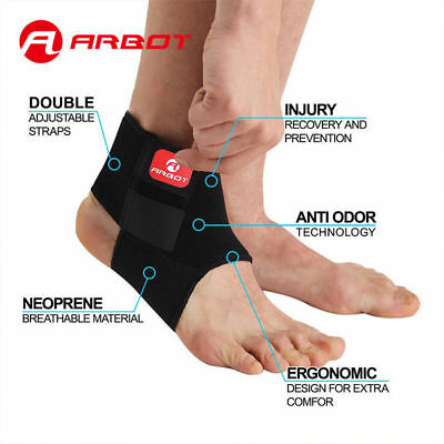 Adjustable Ankle Support Brace Guard Gym Sport For Football Rugby basket ball
