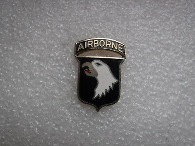 US Army Unit Crest DUI 101st Airborne Division USA Fallschirm D Day Normandy