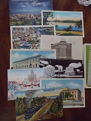 20 VINTAGE POSTCARDS of MINNESOTA / USED & UNUSED /  GOOD CONDITION