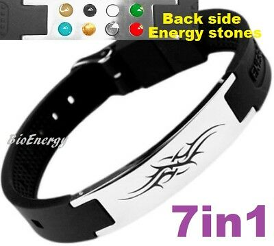 Tatoo Magnetic Energy Power Bracelet Health 7in1 Bio Armband BAND Germanium