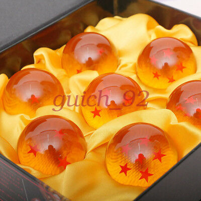 1set Crystal Balls 3.5CM Dragon Ball Z Set New Box 7 Pcs Complete Set #92