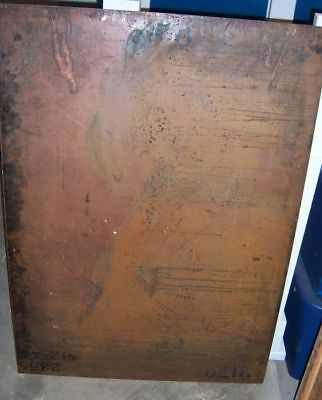 Usgs Antique Copper Map Printing Plate 'macao Islands""