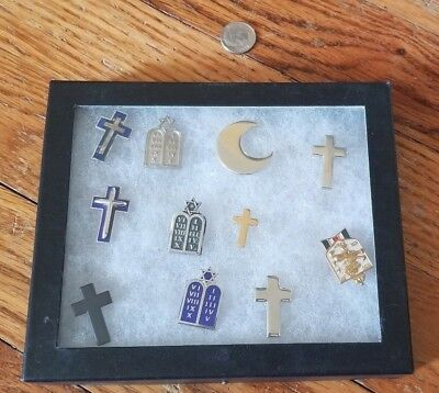 Original WW2 - Dessert Storm - Religious Officer's Insignia - A Great Set